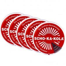 x5 Немецкий энергетический чёрный шоколад Scho-ka-kola