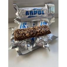 Польский энергетический орехово-шоколадный батончик