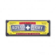 Швейцарский чёрный армейский шоколад Royal Army с гуараной