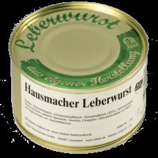 Немецкая печеночная колбаска Leberwurst
