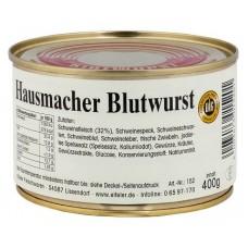 Немецкая домашняя кровяная колбаса Blutwurst