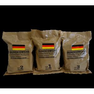 Суточный сухпай армии Германии