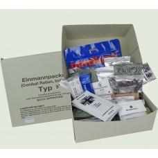 Сухпай армии Германии (версия в картонной коробке)