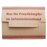 "Продуктовый набор ""Nur für Frontkämpfer im Infanterieverband"""