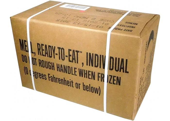 Ящик сухпайков армии США (12 штук)