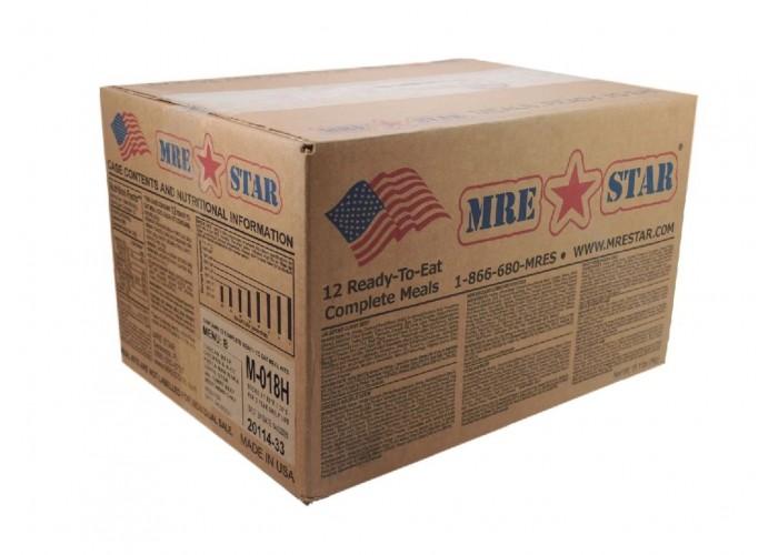 х12 Американский сухпай MRE STAR